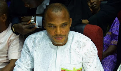 Nnamdi Kanu Drags FG To ECOWAS Court, Sues For N240m