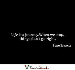Pope Francis Life Quote