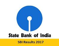 SBI Results 2017