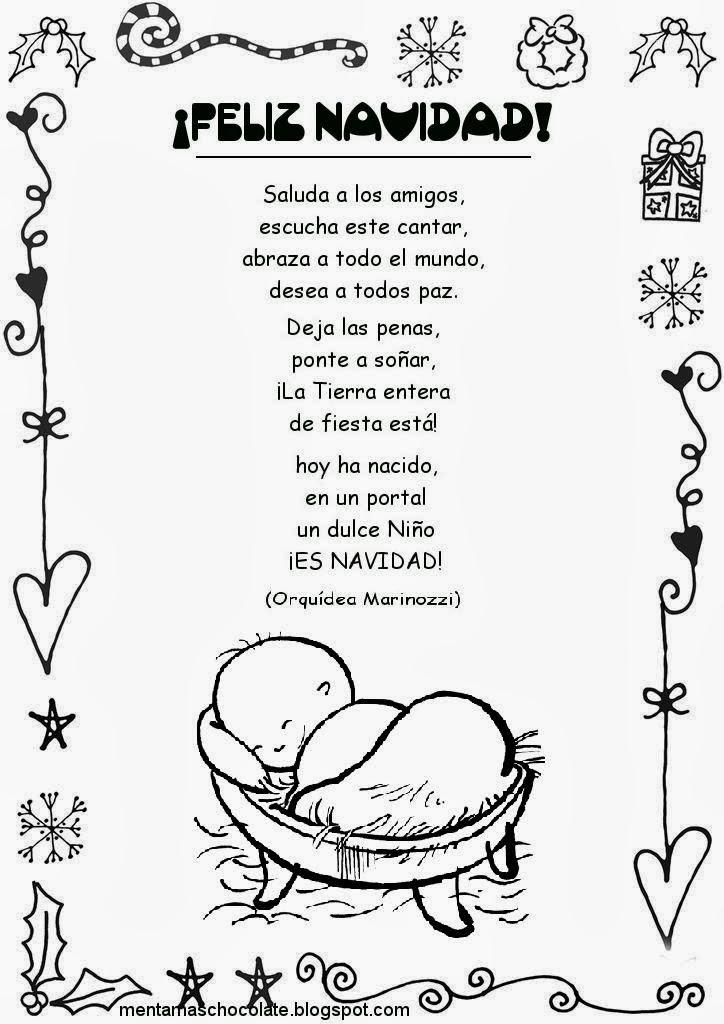 Esos locos bajitos de infantil poesias de navidad - Postales de navidad faciles para ninos ...