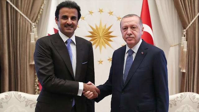 Catar desafía a EEUU invirtiendo $ 15 mil millones en Turquía