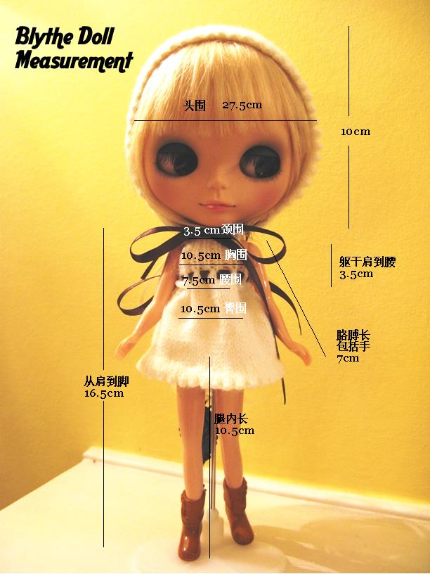Blythe Doll Shoe Size