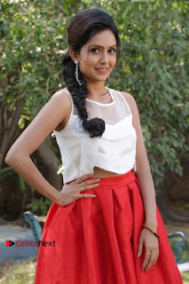 Actress Mahima Nambiar Latest Stills in White Top and Red Skirt at Kuttram 23 Movie Press Meet  0007.jpg