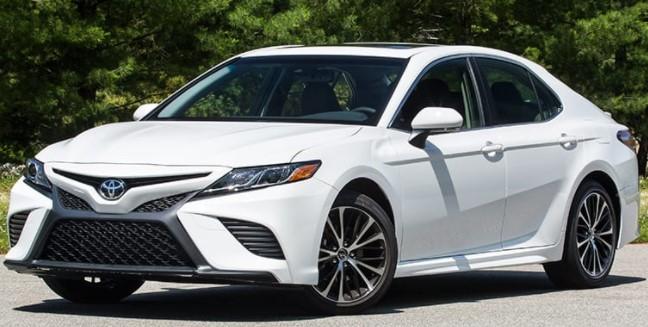 2020 Toyota Camry SE 2.5L Test