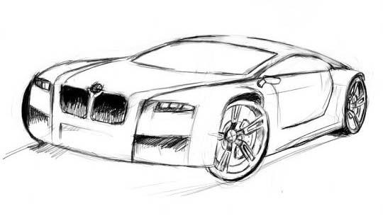car drawings cars. Black Bedroom Furniture Sets. Home Design Ideas