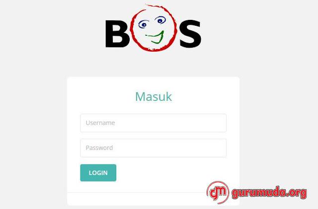 Laporan Online Penggunaan Dana BOS