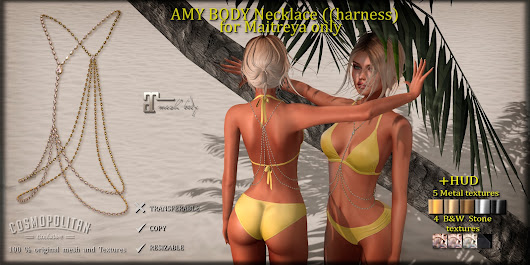 *AvaWay* AMY_Body Necklace (harness)
