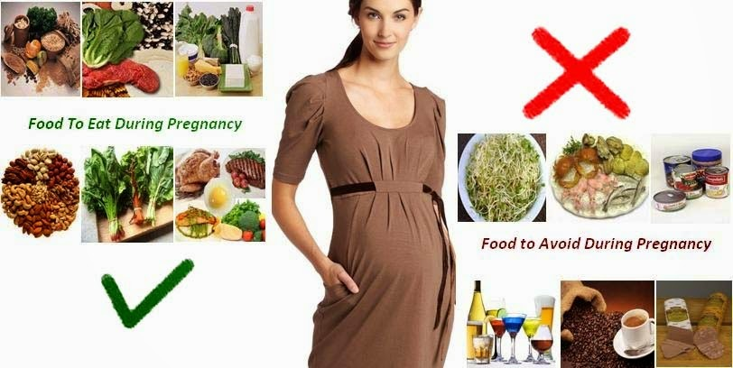Que no debo comer en el embarazo