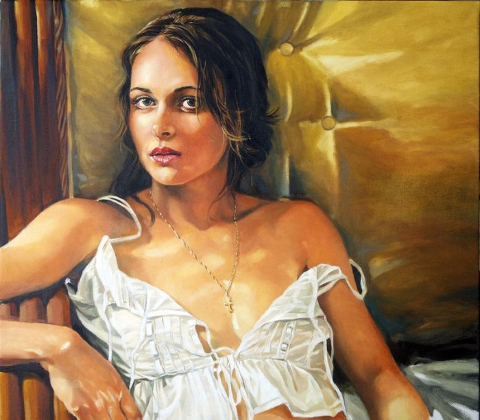Человеческая фигура. Британский художник. Andre Leonard