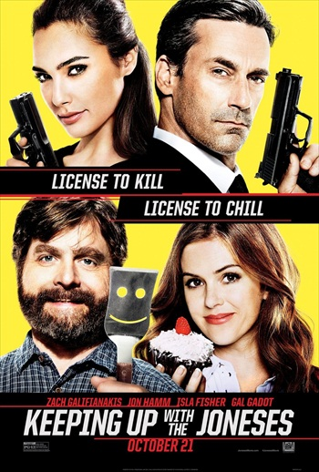 Keeping Up with the Joneses 2016 English Movie Download