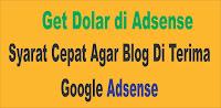 Get money google adsense