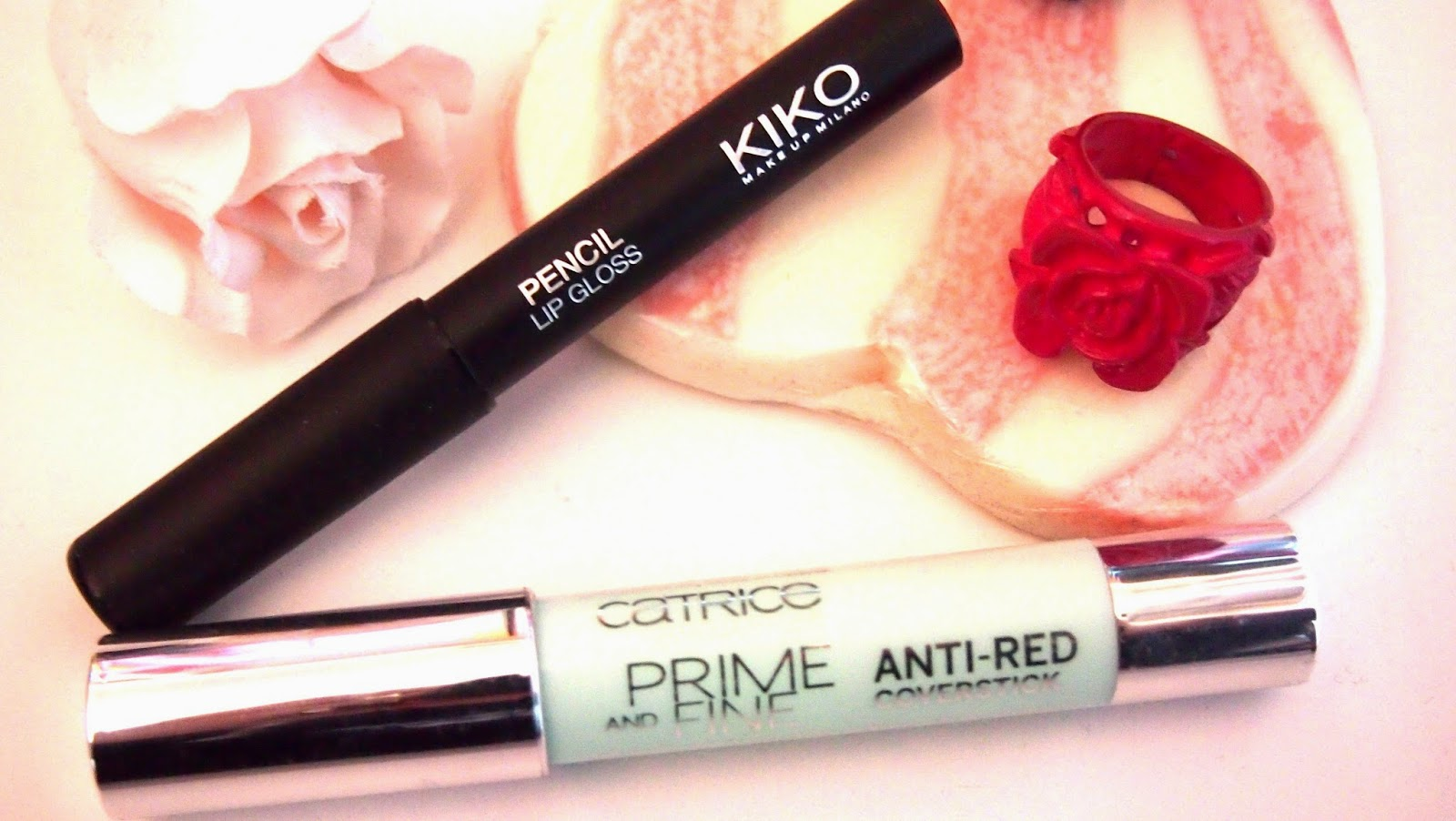Kiko Pencil Lip Gloss & catrice Anti-Red Coverstick Review Meinung