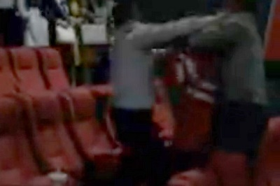 Husband Catches Cheating Wife in the Cinema With Lover (Photo+Video)