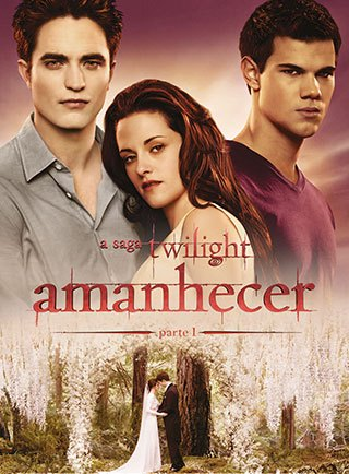 A Saga Crepúsculo - Amanhecer - Parte 1 Blu-Ray Filmes Torrent Download capa