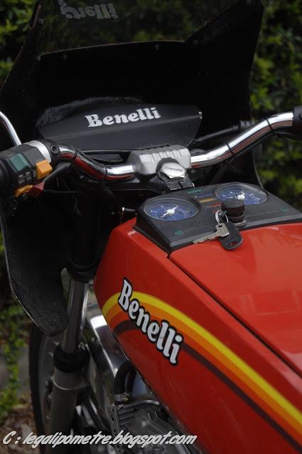 Les cousines Benelli / Moto Guzzi 254 (Années 70) _DSC0043