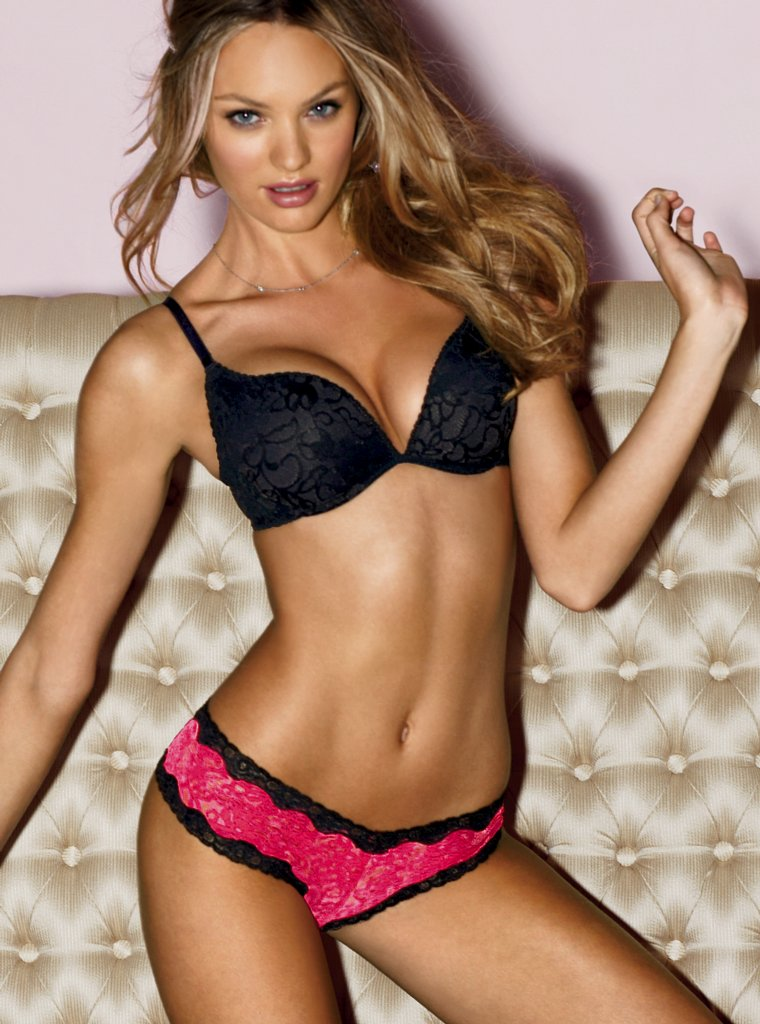 Think, Victoria secret model candice