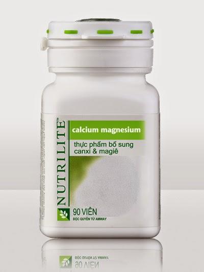Bán Calcium Magnesium Canxi & Magiê Nutrilite Amway giá rẻ tại TPHCM