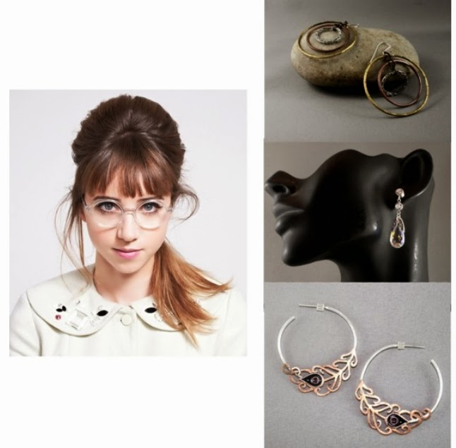 How to Wear Glasses and Jewelry