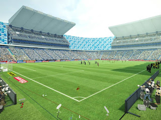 Estadio Cuahutemoc pes 2013 Liga mx