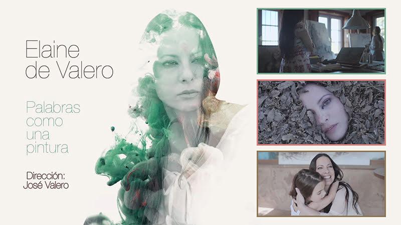 Elaine de Valero - ¨Palabras como una pintura¨ - Videoclip - Dirección: José Valero. Portal Del Vídeo Clip Cubano