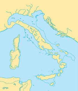 L'Italia milioni di anni fa, ricerca per la scuola sulla formazione della penisola italica