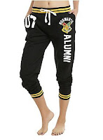 HARRY POTTER HOGWARTS ALUMNI GIRLS JOGGER PANTS