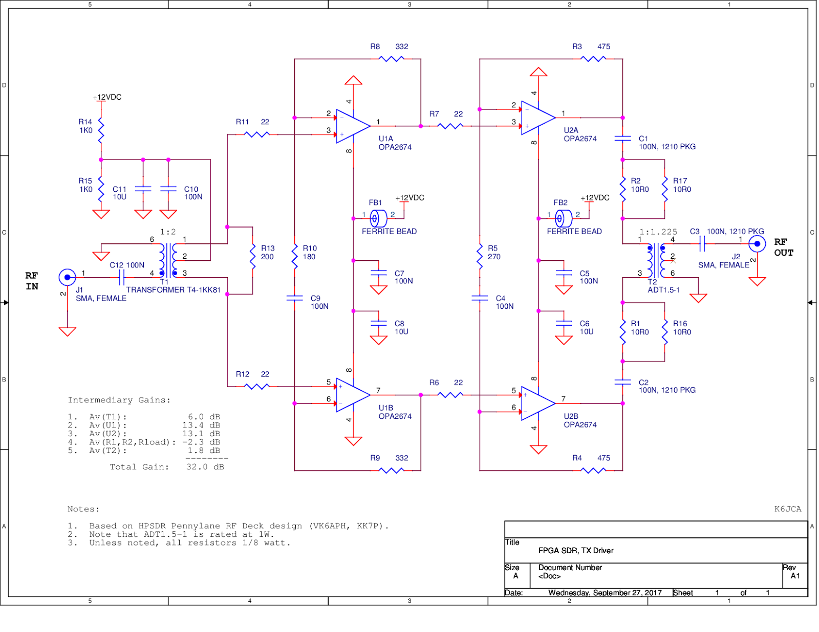 K6jca an fpga sdr hf transceiver part 9 a 50 db hf rf power notes on pa driver schematic nvjuhfo Image collections