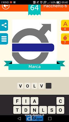 Iconica Italia Pop Logo Quiz soluzione pacchetto 6 livelli 64-100