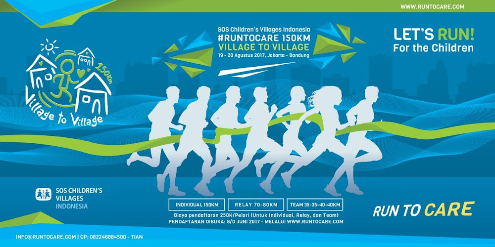 Run To Care - Village to Village • 2017
