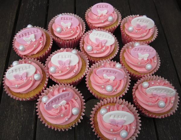 Sarah's Cards And Cupcakes: First Birthday Cupcakes