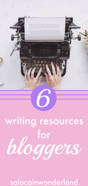 Want to write stronger, better, more profound copy for your blog? Here's 6 FREE writing resources that will improve your writing in just a few clicks of the mouse. #writing #writingtips #writingadvice