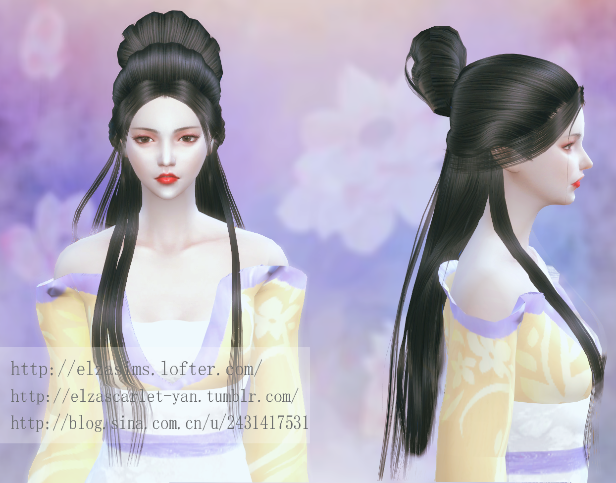 My Sims 4 Blog Hair And Clothing By Elzascarletyan
