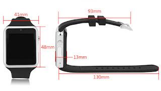 dimensioni zgpax s79 smartwatch sotto 20€