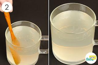 ดื่มน้ำมันมะพร้าว มะนาว