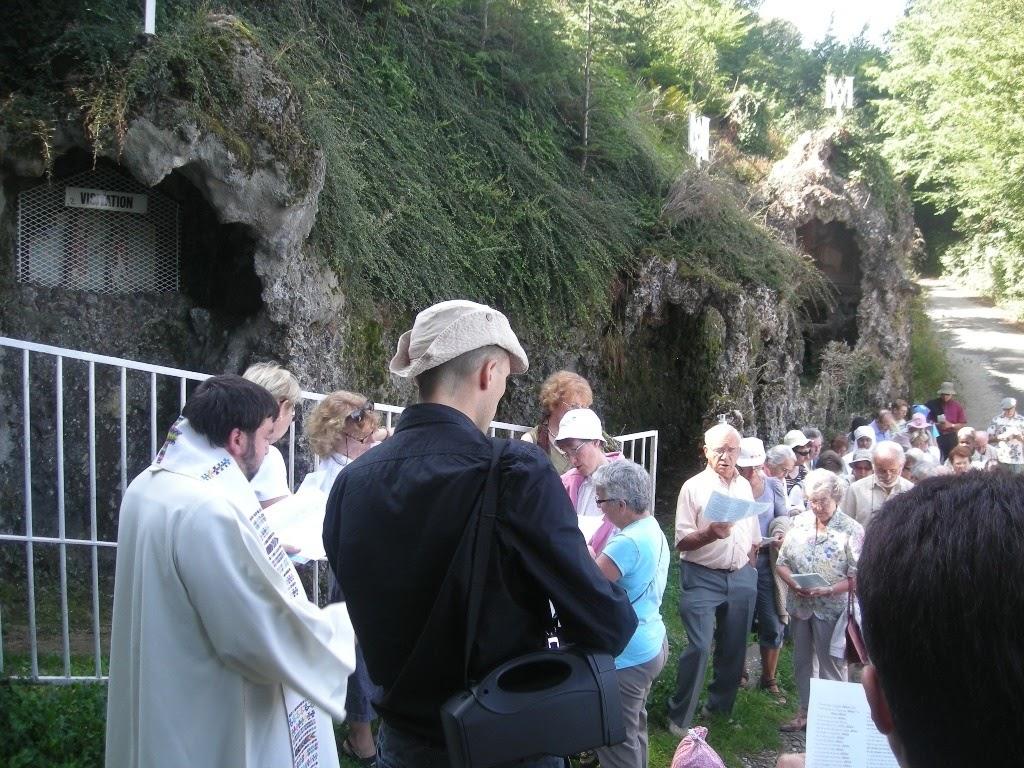 Prière pour les vocations à Valfleury /©diocèse de Saint-Etienne