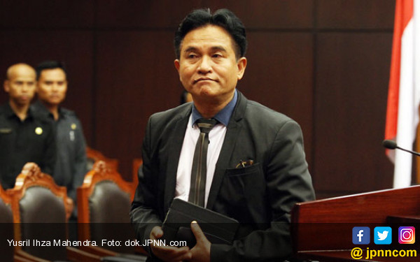 Yusril: HTI Ormas Tak Berbadan Hukum, Bukan Terlarang