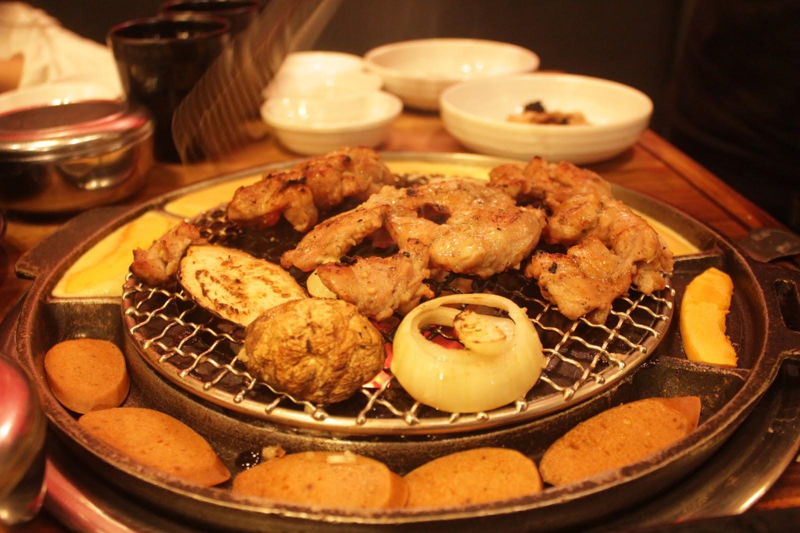 Jajan Seorae Jogja Sensasi Makan Daging Panggang Bumbu Korea A