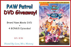 PAW Patrol: Jet to the Rescue DVD Giveaway!