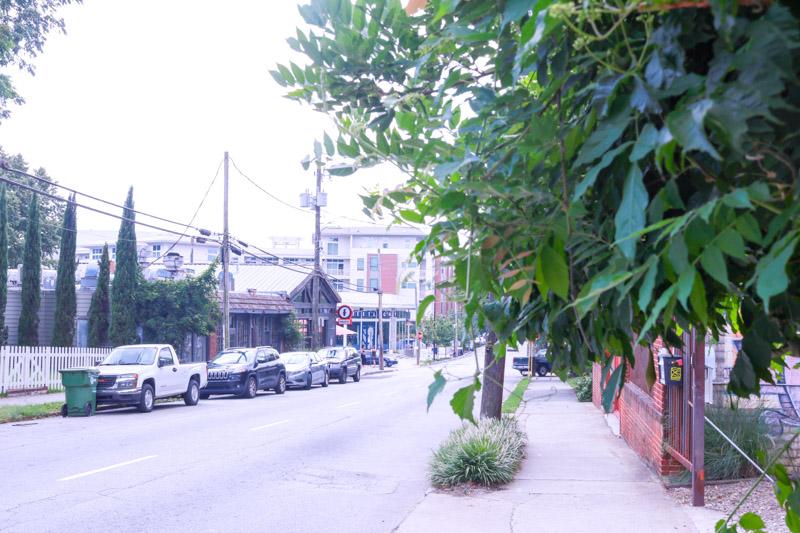 a street in atlanta's inman park