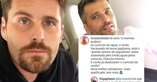 Thiago Gagliasso é criticado por cargo público