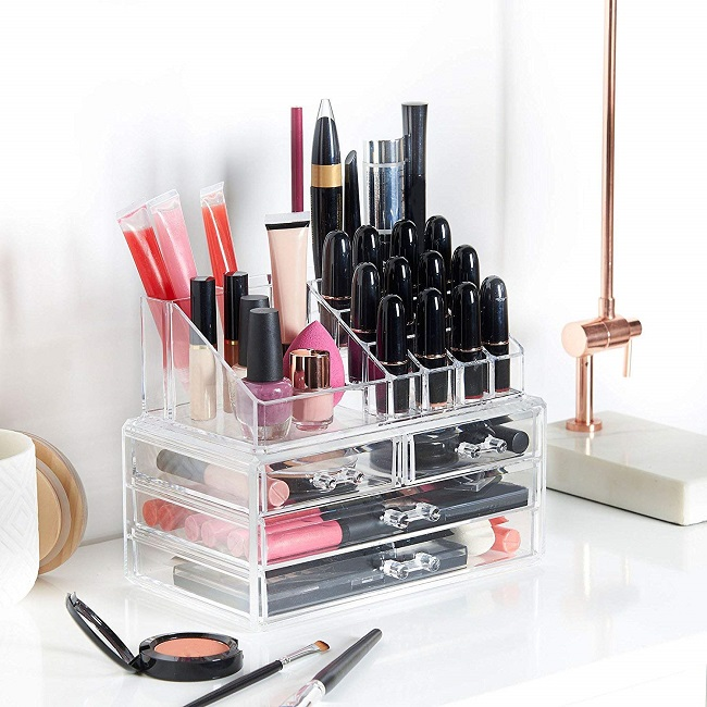 Organizador de Maquillaje  de Amazon