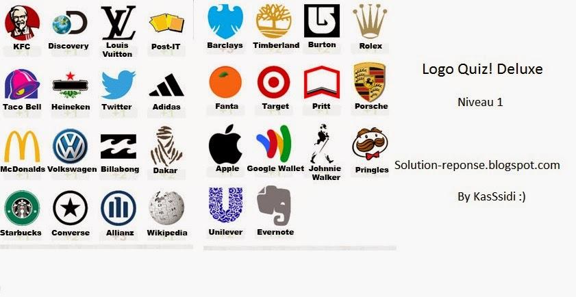 logo quiz deluxe solutions niveau 1 toutes les solutions r ponses des jeux android iphone. Black Bedroom Furniture Sets. Home Design Ideas