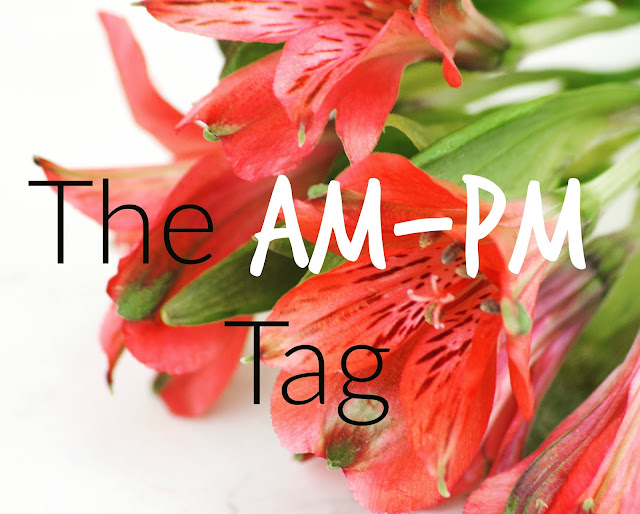 Lovelaughslipstick Blog - Lifestyle The AM - PM Tag