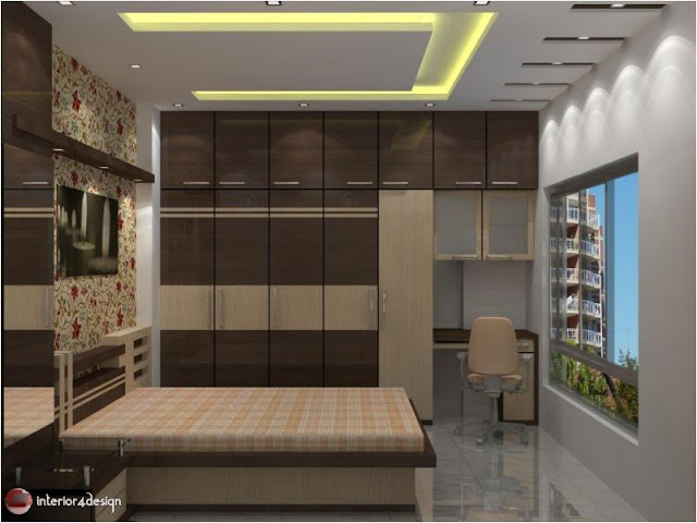 Gypsum Bedroom Designs 12