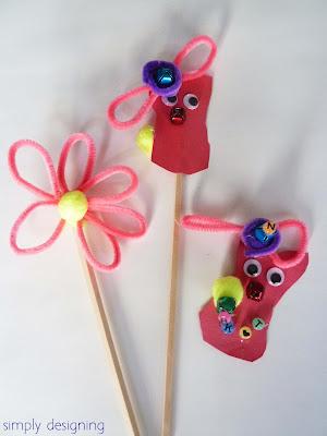kids puppets 03 Spring Break = Kid Craft Time 11