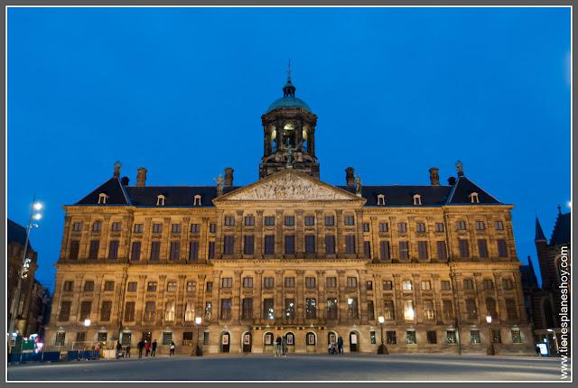 Ayuntamiento Amsterdam (Paises Bajos)