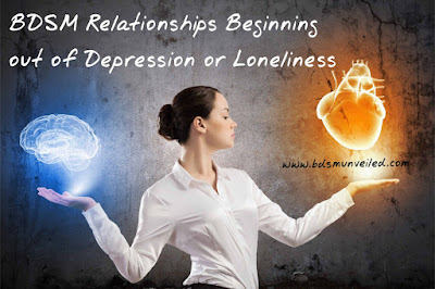 BDSM Relationships Began Out of Depression or Loneliness