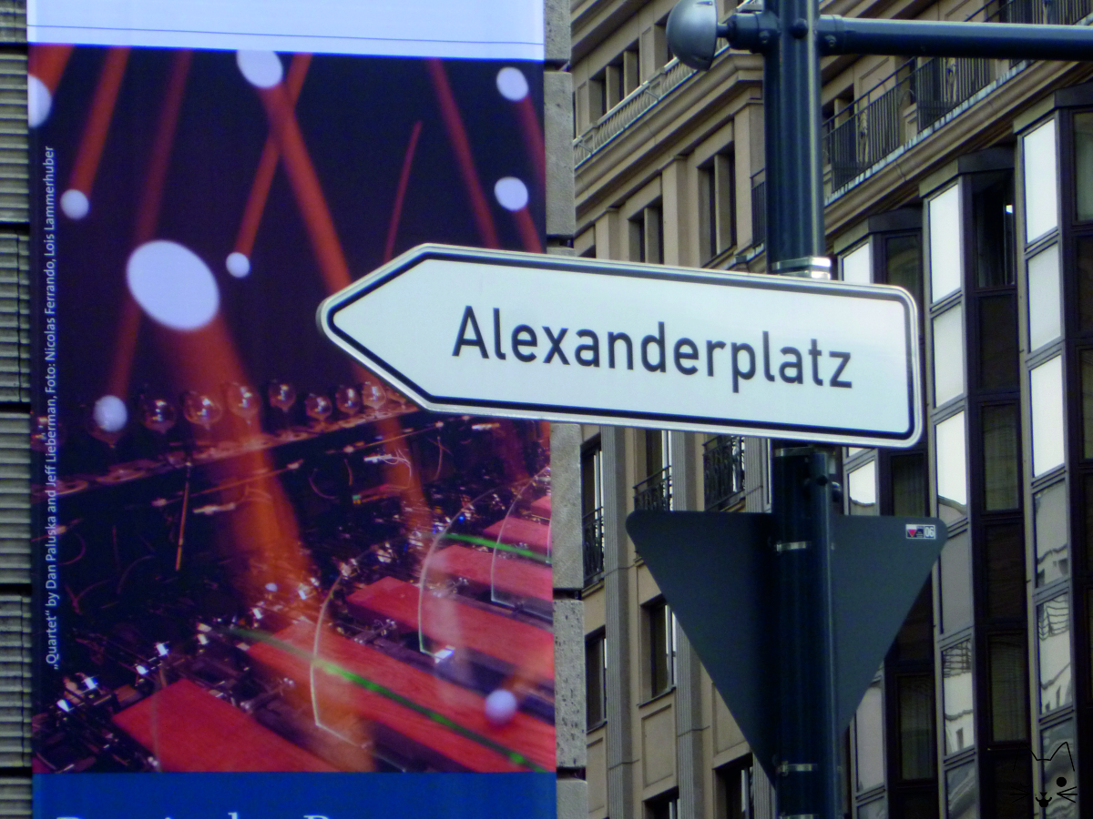 "Cartel ""Alexanderplatz"""