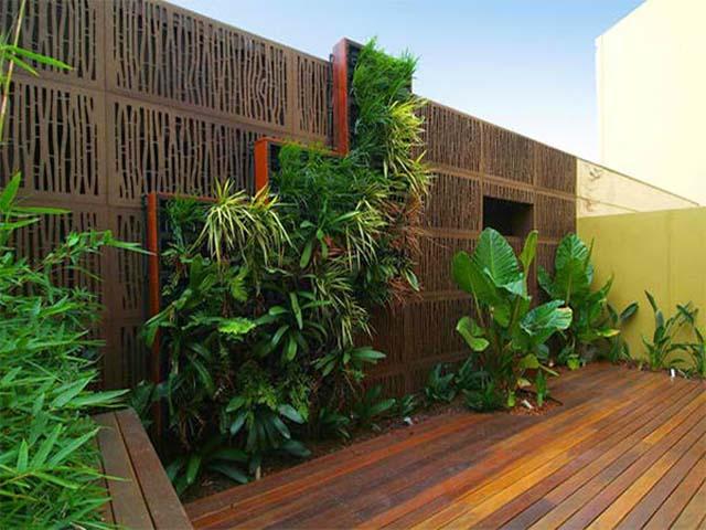 Desain Taman Dinding Untuk Rumah Minimalis | Design Rumah ...