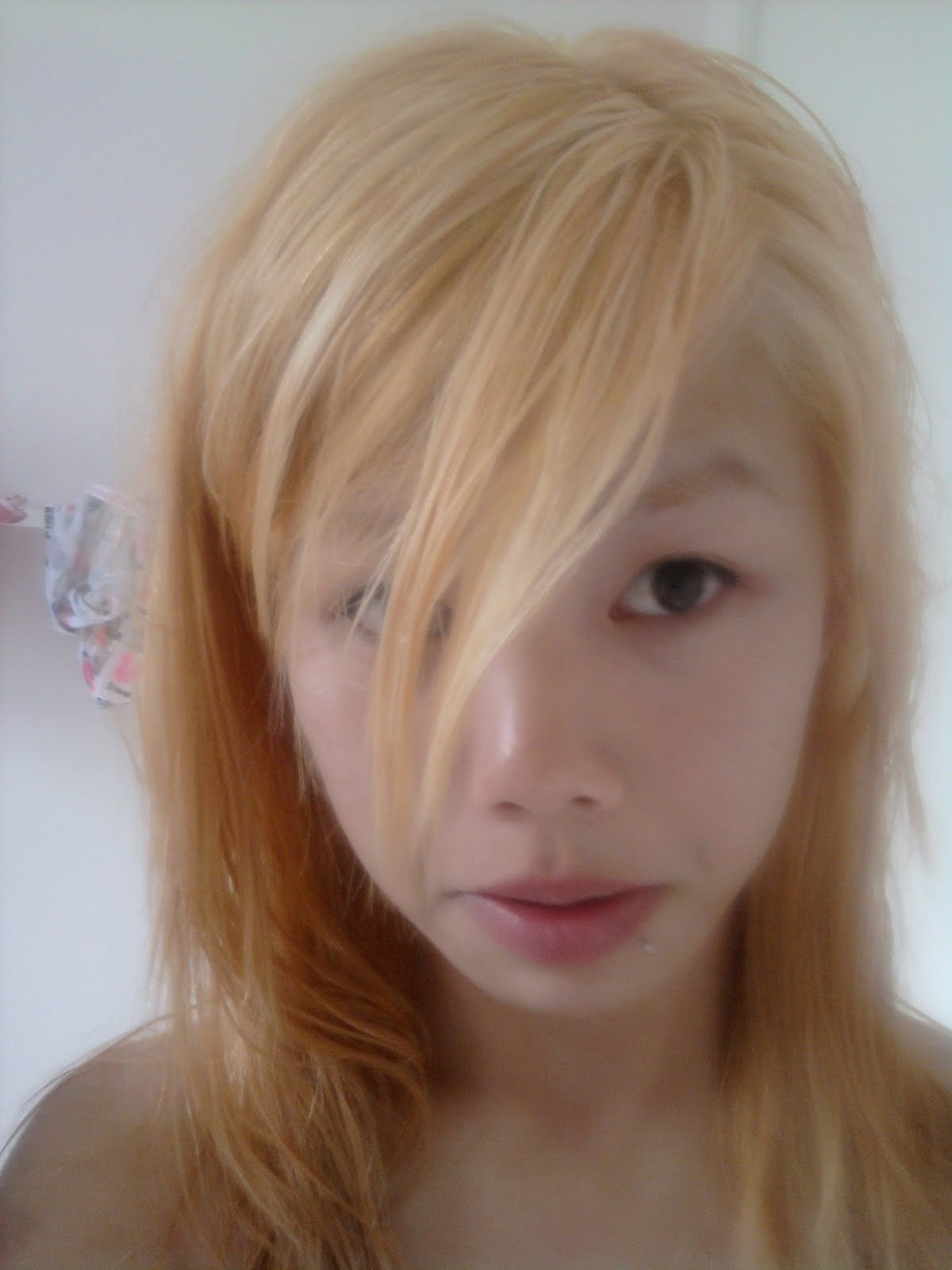 Lazybumttot My Hair Bleaching Experience